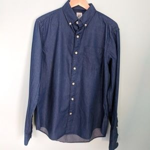 GAP Demin Blue Button Down M